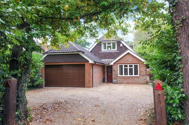 4 Bedrooms Chalet House for sale in Finchampstead Road, FINCHAMPSTEAD, Berkshire