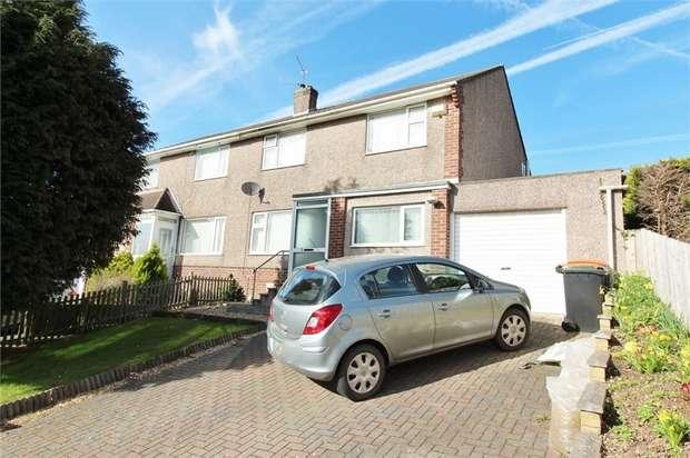 3 Bedrooms Semi Detached House for sale in Glanmor Crescent, NEWPORT