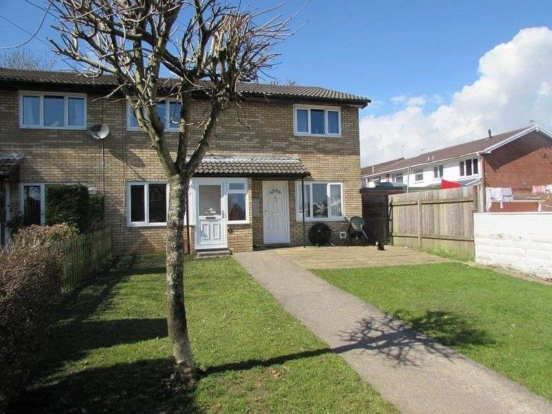 2 Bedrooms End Of Terrace House for sale in St. Stephens Drive, Pencoed, Bridgend. CF35 6JS