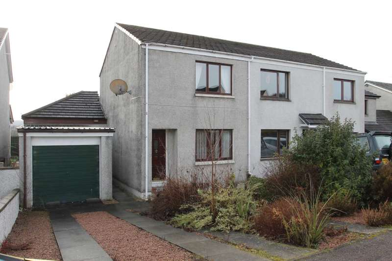 3 Bedrooms Semi Detached House for sale in Balnabeen Drive, Dingwall