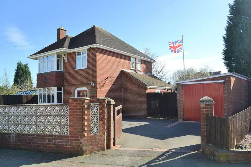 3 Bedrooms Detached House for sale in Valley Lane, Lichfield