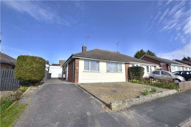 2 Bedrooms Semi Detached Bungalow for sale in Petworth Close, Tuffley, GLOUCESTER, GL4 0TG
