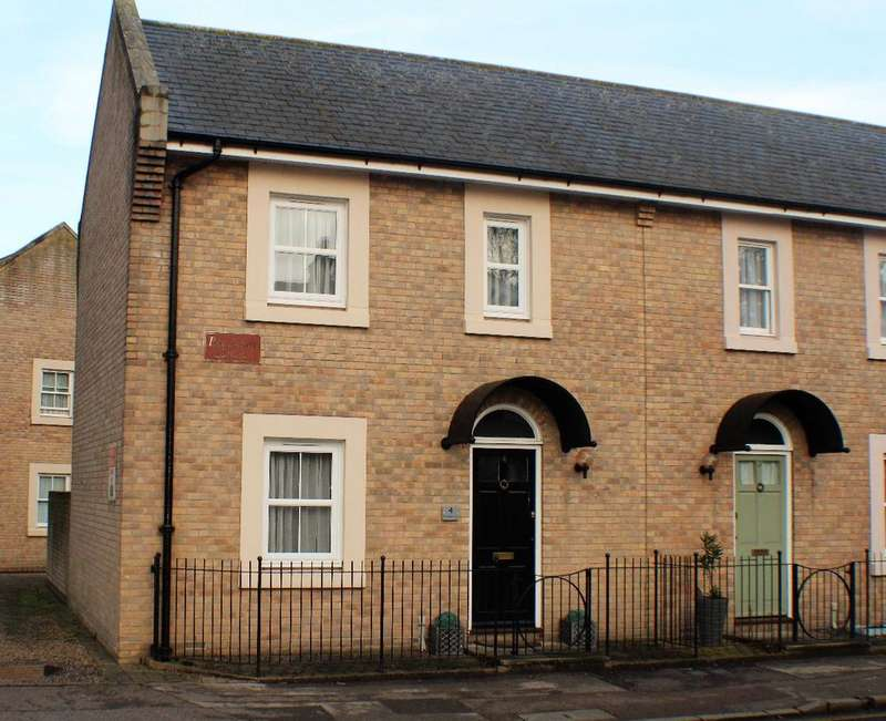 2 Bedrooms Terraced House for sale in Ben sainty court Witham essex cm8 2th