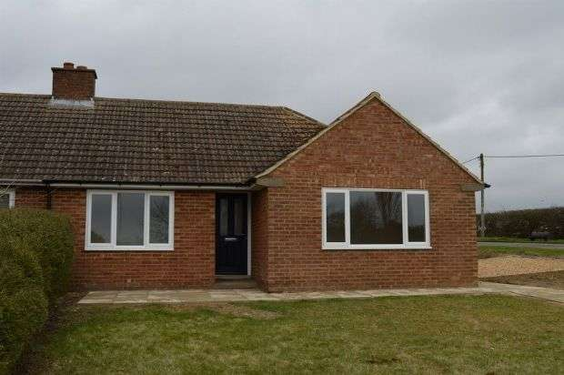 2 Bedrooms Semi Detached Bungalow for sale in Hinwick Road , Wollaston , Northampton NN29 7QY