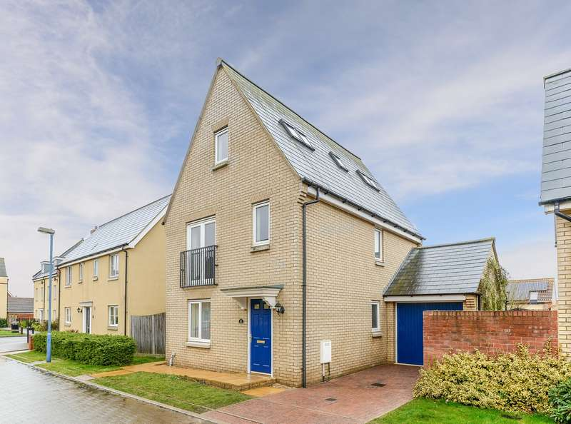 4 Bedrooms Detached House for sale in Greenhaze Lane, Great Cambourne, Great Cambourne, CB23