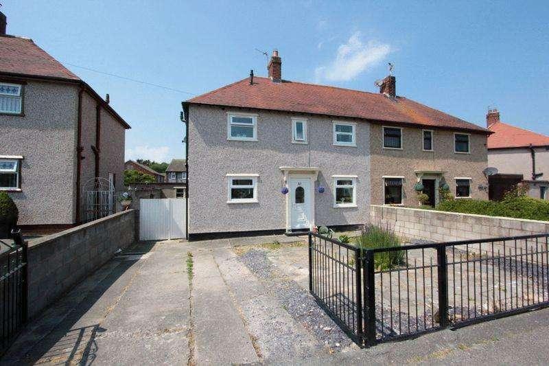 3 Bedrooms Semi Detached House for sale in Llwyn Elwy, St. Asaph