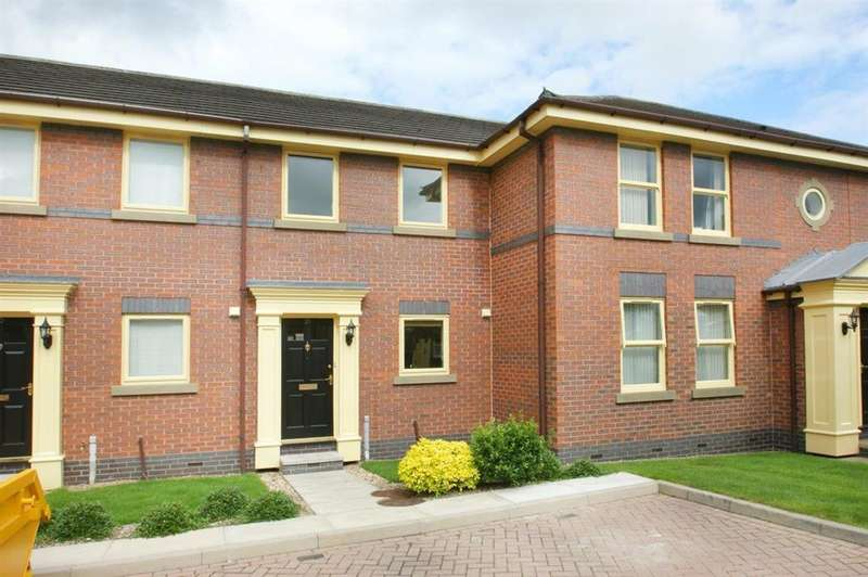 2 Bedrooms Town House for sale in Eliot Court, Fulford, York, YO10 4LP