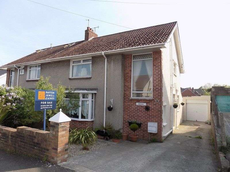 4 Bedrooms Semi Detached House for sale in Oaklands Road, Bridgend, CF31 4SU