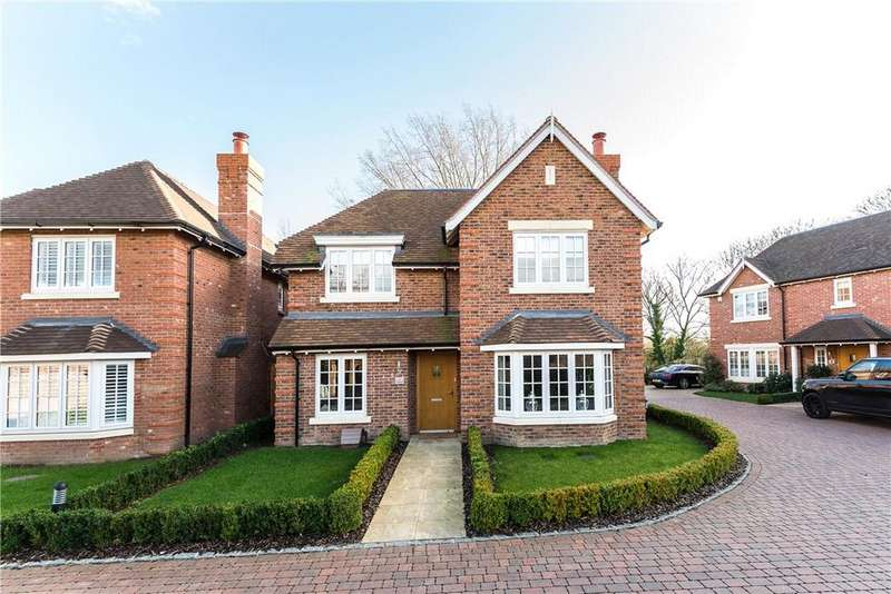 4 Bedrooms Detached House for sale in Homelands, North Street, Winkfield, Windsor, SL4