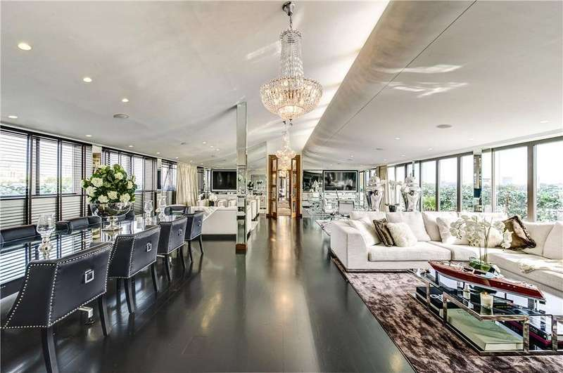 3 Bedrooms House for sale in Petersham House, 12-23 Harrington Road, South Kensington, SW7