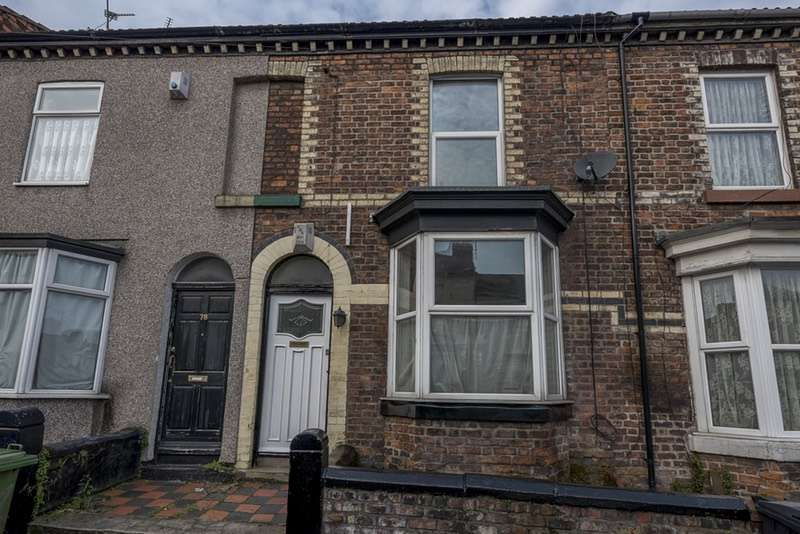 2 Bedrooms Terraced House for sale in RODNEY STREET, BIRKENHEAD, Cheshire, CH41