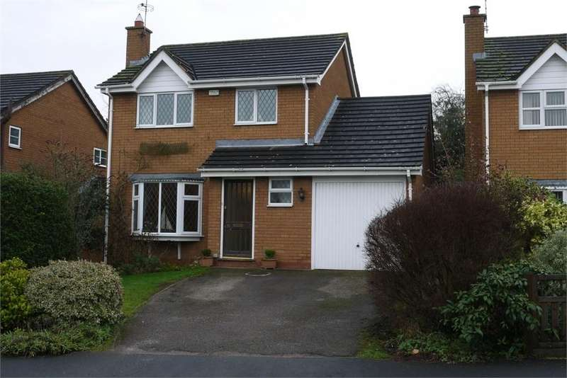 3 Bedrooms Detached House for sale in Mulberry Close, Lutterworth, Leicestershire