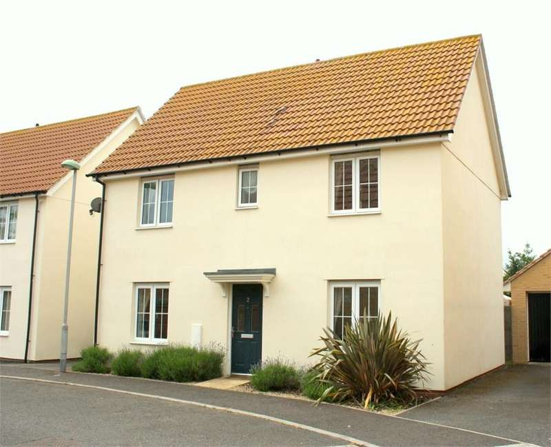 3 Bedrooms Detached House for sale in Melso Close, Great Cornard, Sudbury, Suffolk