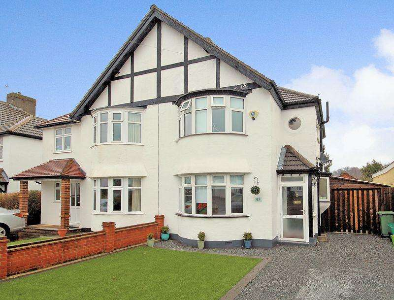 3 Bedrooms Semi Detached House for sale in Queensway, West Wickham