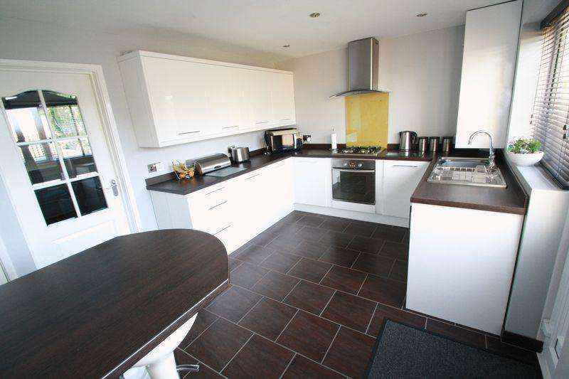 3 Bedrooms Semi Detached House for sale in Briardene Walk, Bishopsgarth, Stockton, TS19 8UU