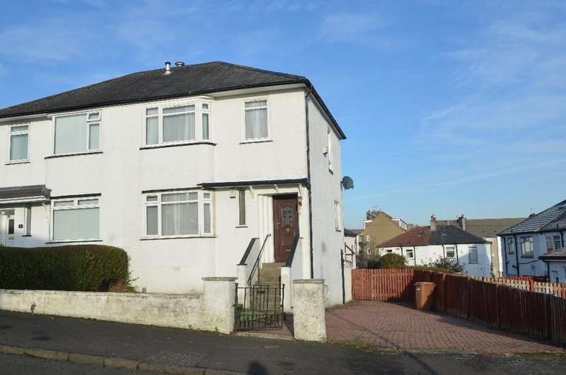 3 Bedrooms Semi Detached House for sale in Southlea Avenue, Thornliebank, Glasgow, G46 7BS