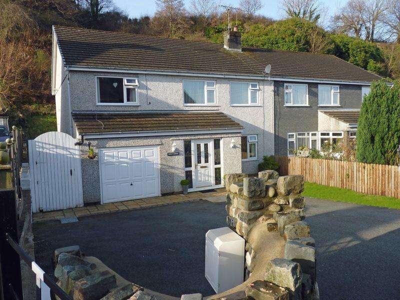 4 Bedrooms Semi Detached House for sale in Nant Y Felin Road, Llanfairfechan