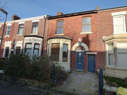 4 Bedrooms Terraced House for sale in Brackenbury Road, Preston, Lancashire, PR1