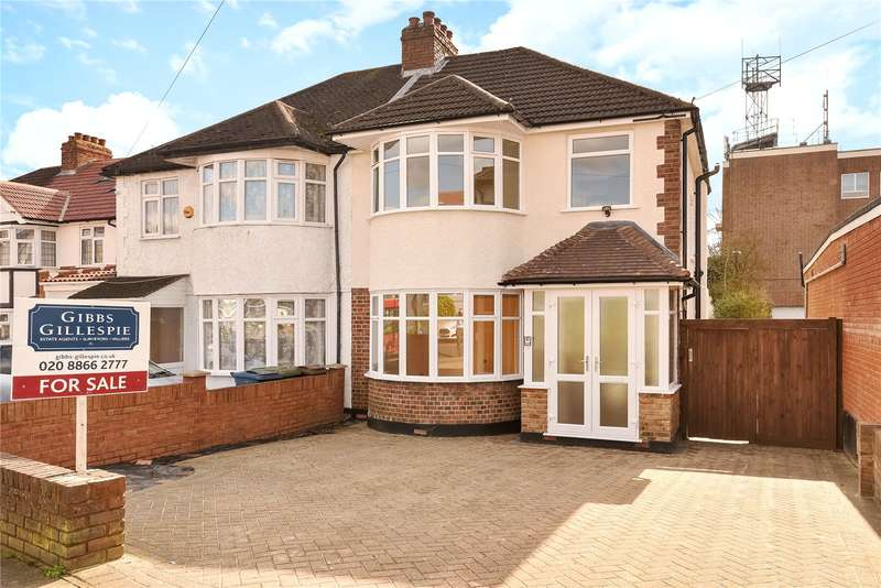 3 Bedrooms Semi Detached House for sale in Village Way, Pinner, Middlesex, HA5