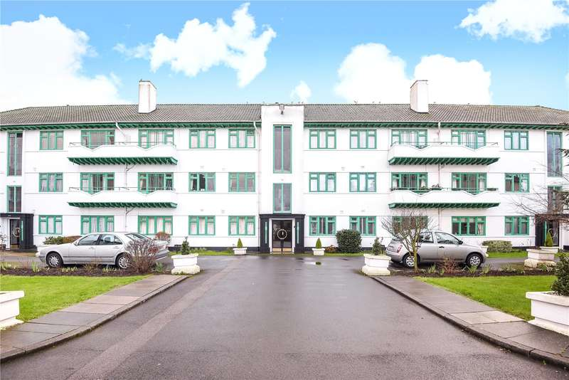 3 Bedrooms Apartment Flat for sale in Elm Park Court, Pinner, Middlesex, HA5