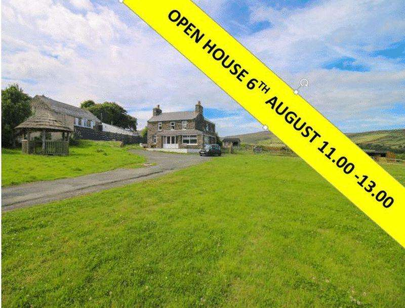 5 Bedrooms Detached House for sale in Farmhouse With 8 Acres, Stables And Menage, Ballakilpheric, Colby, IM9 4BS