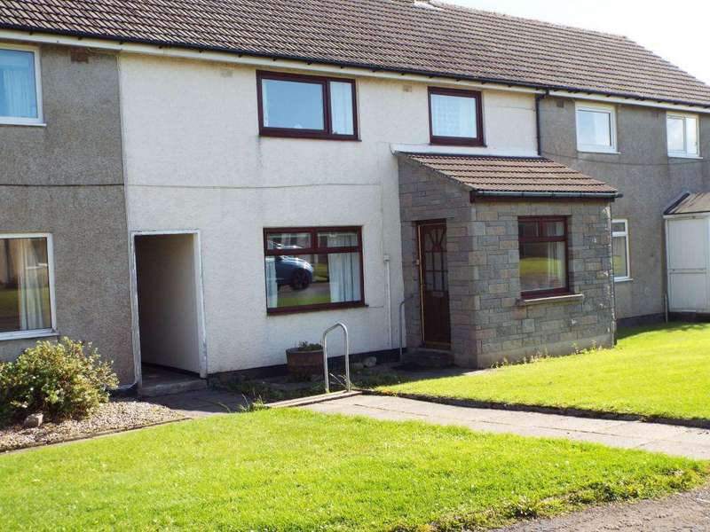 3 Bedrooms End Of Terrace House for sale in 6 Dunbar Terrace, Thurso
