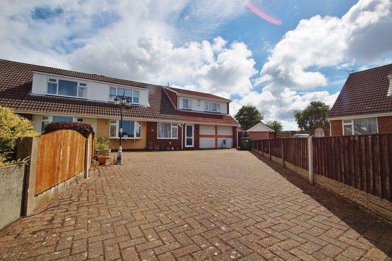 5 Bedrooms Semi Detached House for sale in Seacroft Crescent, Marshside