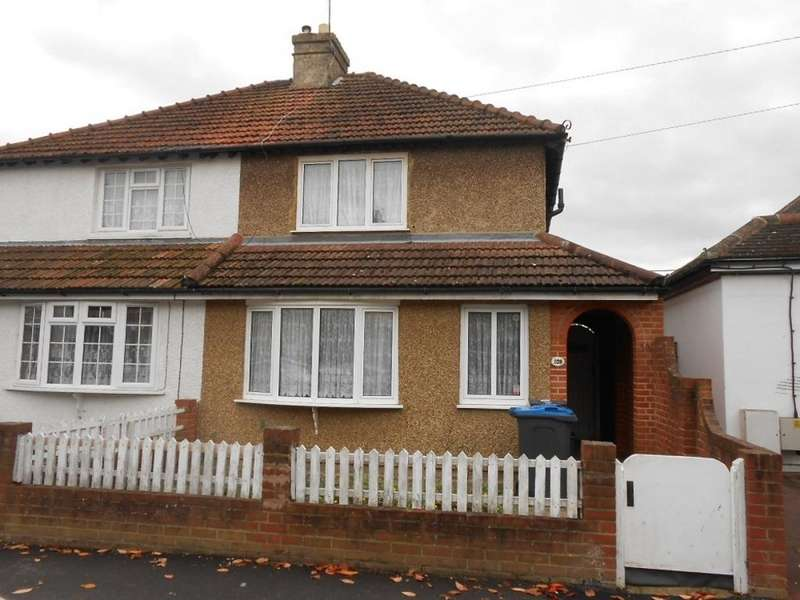 3 Bedrooms Semi Detached House for sale in Tolworth Park Road, Surbiton, KT6 7RH