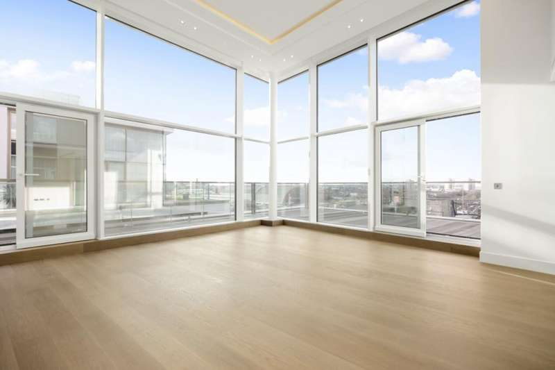 3 Bedrooms Penthouse Flat for sale in Trinity House, 381 Kensington High Street, Kensington, London, W14