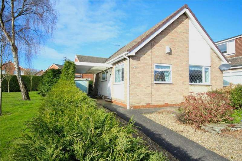 2 Bedrooms Detached Bungalow for sale in Cave Crescent, Cottingham, East Riding of Yorkshire