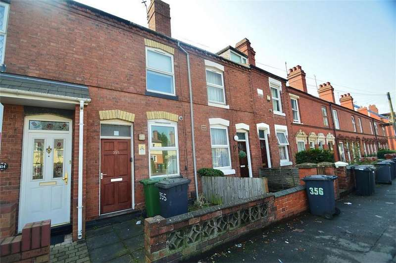 2 Bedrooms Terraced House for sale in Hurcott Road, Kidderminster, Worcestershire