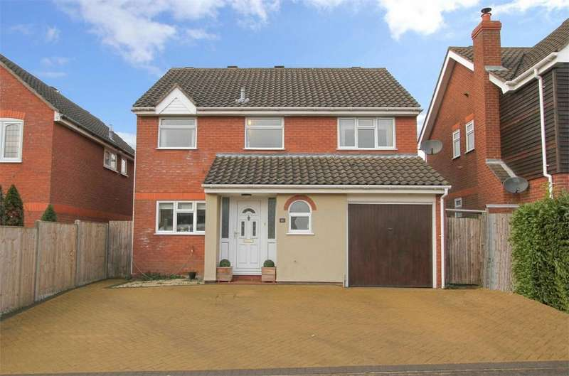 4 Bedrooms Detached House for sale in Barnham Broom Rd, Wymondham, Norfolk
