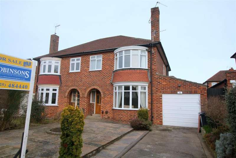 3 Bedrooms Semi Detached House for sale in Glenfield Road, Darlington