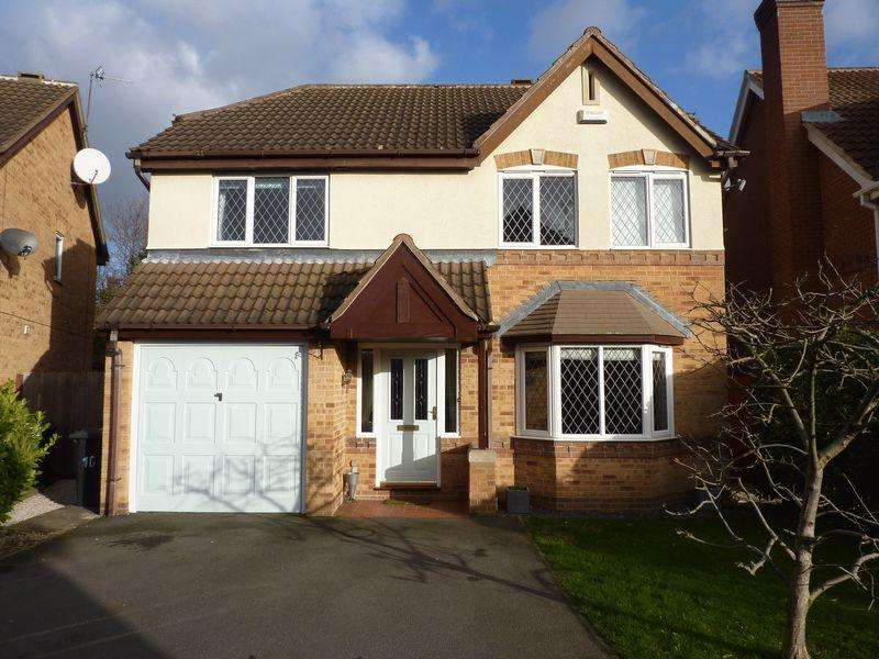 4 Bedrooms Detached House for sale in Woods Meadow, Derby