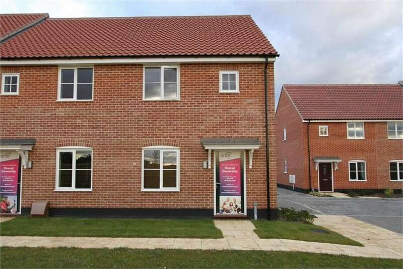 2 Bedrooms End Of Terrace House for sale in Saddlers Rise, Thetford Road, Watton, Norfolk