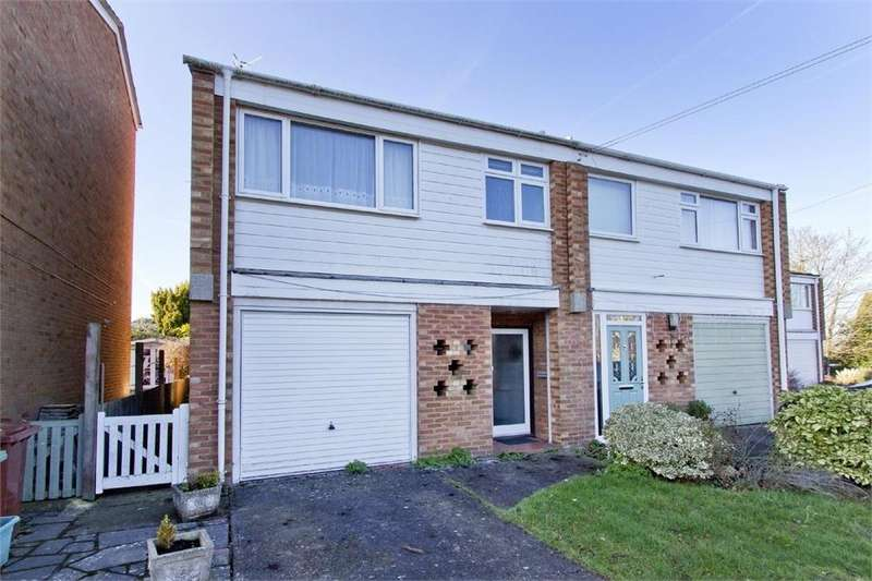 3 Bedrooms Semi Detached House for sale in 8 Fernhurst Crescent, Tunbridge Wells, Kent