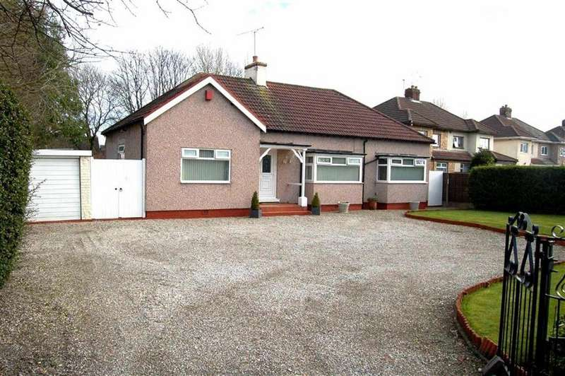3 Bedrooms Detached Bungalow for sale in Chester Road, Little Sutton, CH66