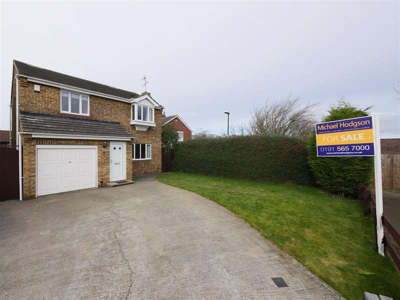 4 Bedrooms Detached House for sale in Meadow View, East Herrington, Sunderland