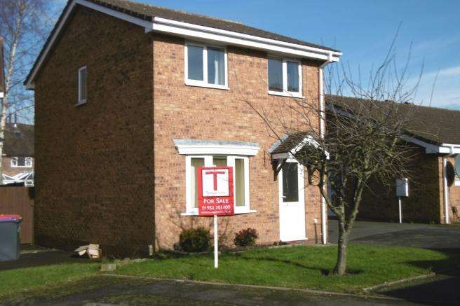 3 Bedrooms Detached House for sale in 9 Ripley Close, Leegomery, Telford, Shropshire, TF1 6YY