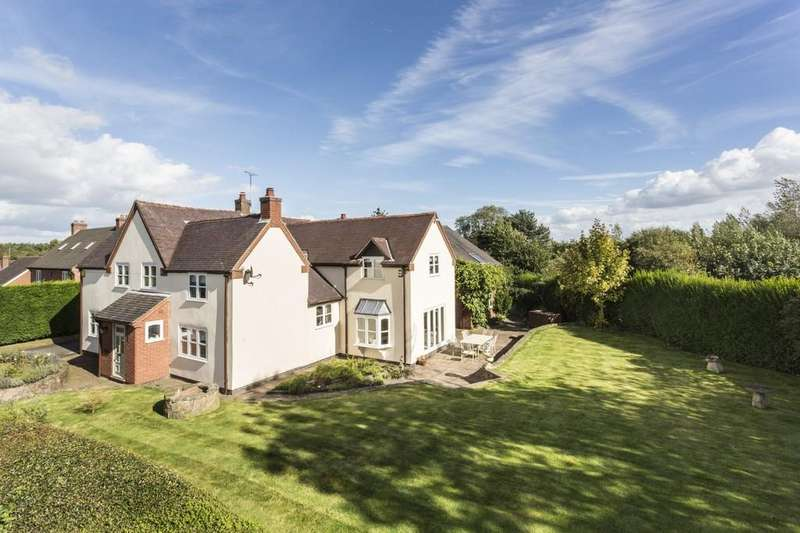 4 Bedrooms Detached House for sale in The Moor, Coleorton
