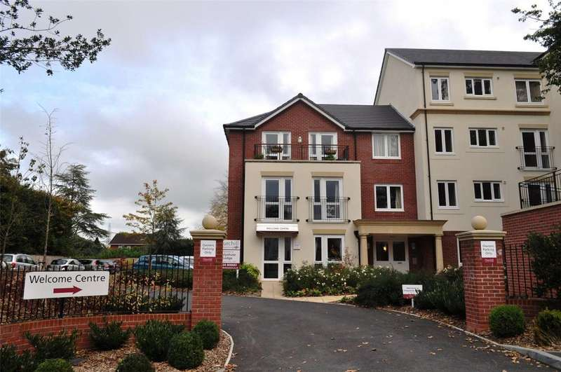 1 Bedroom Retirement Property for sale in Holyshute Lodge, Langford Road, Honiton, Devon, EX14