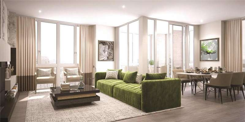 2 Bedrooms Apartment Flat for sale in Perseus Court, Blackwall Reach, E14
