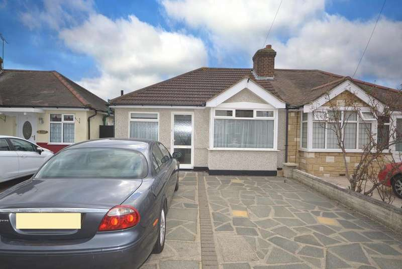 2 Bedrooms Semi Detached Bungalow for sale in Marina Gardens, Romford, RM7