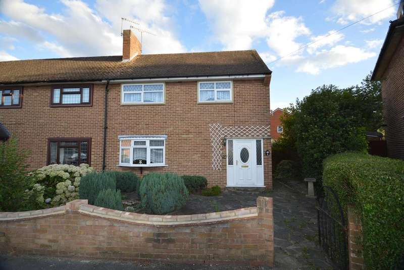 2 Bedrooms End Of Terrace House for sale in Chaucer Road, Harold Hill, Romford, RM3