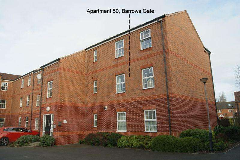 2 Bedrooms Apartment Flat for sale in Barrows Gate, Newark