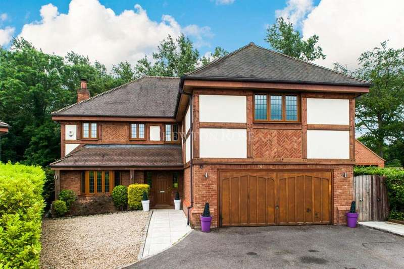 5 Bedrooms Detached House for sale in Pelling Hill, Old Windsor