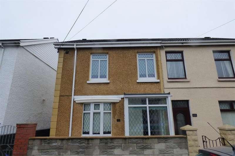 3 Bedrooms Semi Detached House for sale in 61 Ynys Wen, Felinfoel, Llanelli, Carmarthenshire