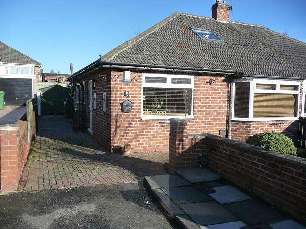 2 Bedrooms Semi Detached Bungalow for sale in Protear Grove, Norton, Stockton on Tees TS20