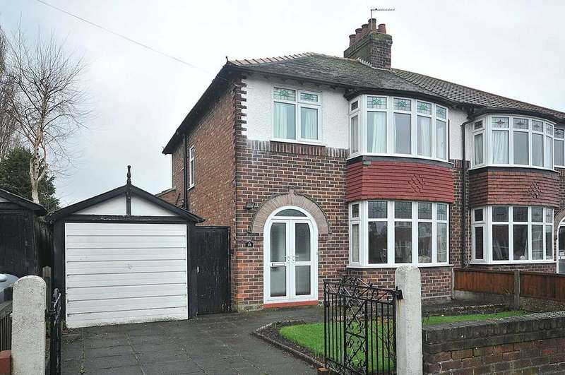 3 Bedrooms Semi Detached House for sale in Kildonan Road, Grappenhall