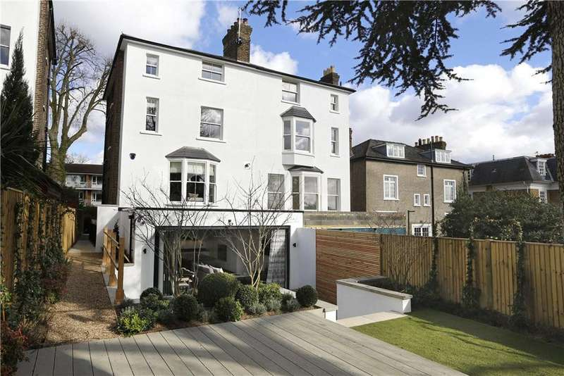 5 Bedrooms Semi Detached House for sale in Denmark Avenue, Wimbledon Village, London, SW19